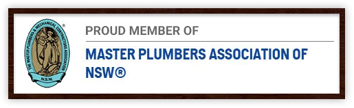 Proud Member of Master Plumbers Association of NSW